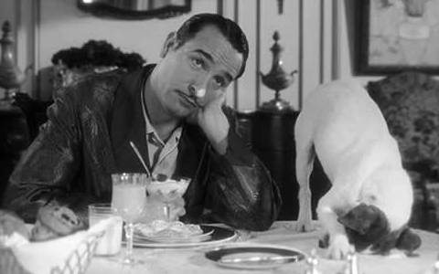 George Valentin and Uggie