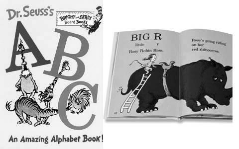 Dr. Seuss ABC, another simple story like The Artist